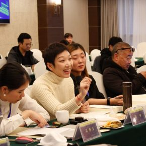 """27 View of the discussion – Qiu Min delivered a speech 290x290 - Focusing on """"Seeing and Reading: Critics and Readers"""" The 11th Annual Conference of Chinese Art Critics Held in Zhangzhou"""
