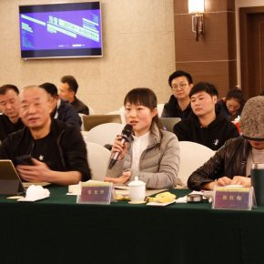 """29 View of the discussion – Zhang Guanghua delivered a speech 290x290 - Focusing on """"Seeing and Reading: Critics and Readers"""" The 11th Annual Conference of Chinese Art Critics Held in Zhangzhou"""