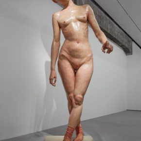 "And You 414×154×164cm Fiberglass painted 2005 Keep in Silence Series 290x290 - Long Museum West Bund presents ""Xiang Jing: Through No One's Eyes But My Own"" in Shanghai"