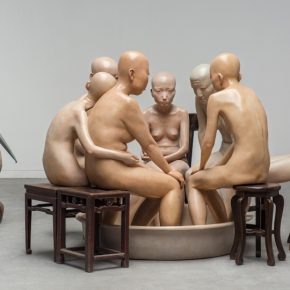 "Are One Hundred Playing You Or Only One Fiberglass painted 2007 Naked Beyond Skin Series 290x290 - Long Museum West Bund presents ""Xiang Jing: Through No One's Eyes But My Own"" in Shanghai"