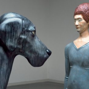 "Be Kind to Melancholy That Big Loyal Dog Fiberglass painted 2013 2016 Details S Series) 290x290 - Long Museum West Bund presents ""Xiang Jing: Through No One's Eyes But My Own"" in Shanghai"