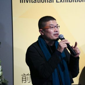 "05 Kang Jianfei Associate Professor from the Department of Printmaking CAFA and curator of the exhibition 290x290 - Diverse Styles and Beautiful Forms: ""Win-Win Cooperation Belt and Road International Printmaking Invitational Exhibition"" Opened"