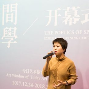 "07 Artist Zhang Xiaoyue 290x290 - How Could Space Become ""Poetics""? 2018 Finding Friends – The Poetics of Space opened at Today Art Museum"