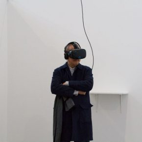 "07 Installation view of the lecture 290x290 - Finding the Trajectory of Life in Dynamic Scenery: Yu Hong's New Virtual Reality Artwork ""She's Already Gone"" has opened"