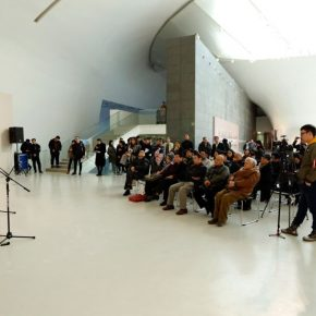 "08 View of the opening ceremony  290x290 - Drawing the Spirit: ""Is It Simply Sketching? – A Case Study of Ye Qianyu Part I"" has opened"
