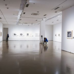 """12 Installation view of the exhibition 3 290x290 - Diverse Styles and Beautiful Forms: """"Win-Win Cooperation Belt and Road International Printmaking Invitational Exhibition"""" Opened"""