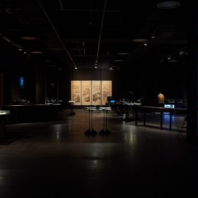 """14 Exhibition View at the United Art Museum Wuhan 290x290 - """"Xu Bing"""": The Art View and Action Logic of a Fatalist"""