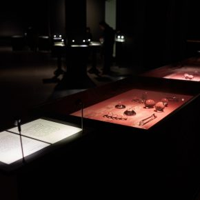 "15 Exhibition View at the United Art Museum Wuhan 290x290 - ""Xu Bing"": The Art View and Action Logic of a Fatalist"