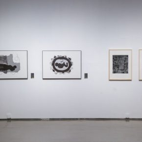 "16 Installation view of the exhibition 3 290x290 - Diverse Styles and Beautiful Forms: ""Win-Win Cooperation Belt and Road International Printmaking Invitational Exhibition"" Opened"