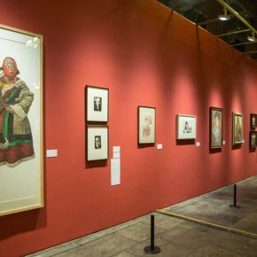 "20 Installation view of the exhibition 2 290x290 - Using ""Portraits"" to View the Contemporary Chinese Spirit: An Important Chapter of the Centennial Anniversary of CAFA ""Portraits of the Times"" opened"