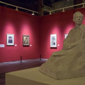 "21 Installation view of the exhibition 2 290x290 - Using ""Portraits"" to View the Contemporary Chinese Spirit: An Important Chapter of the Centennial Anniversary of CAFA ""Portraits of the Times"" opened"