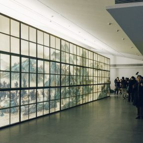 "31 Xu Bing Background Story 2004 ongoing Scroll of Leisure in Autumn Mountains 290x290 - ""Xu Bing"": The Art View and Action Logic of a Fatalist"