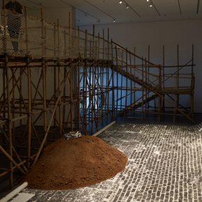 "37 Xu Bing Ghost Pounding The Wall 1990 1991 Height 15m Width 15m Length 32m 290x290 - ""Xu Bing"": The Art View and Action Logic of a Fatalist"