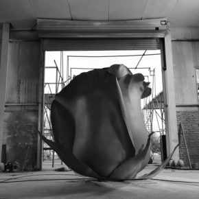 Cai Zhisong Rose in Winter 2016 2017 Cast Stainless Steel 350x300x250cm 290x290 - Inhabiting: Cai Zhisong Solo Exhibition Opening on January 24 at Suzhou Jinji Lake Art Museum