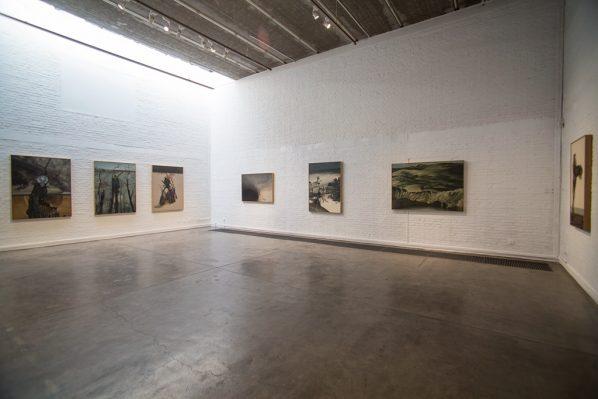 Exhibition View of Nashunbatu Solo Exhibition 01 598x399 - Pékin Fine Arts showcases Nashunbatu's new works in Beijing