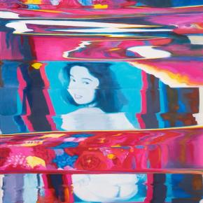 "Tao Xian Kabukicho 2017 Oil on canvas 147x106cm 290x290 - DA+ Space presents ""Unfolding Exit – Six Person Exhibition"" in Shanghai"