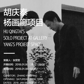 Hu Qingtai Solo Project Displaying at Gallery Yang's Project Space