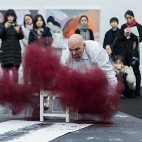 """The Time is Now"": Nigel Rolfe's Performance Art Debuts in China"