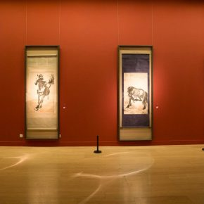 13 Installation view of the exhibition 290x290 - Reproduction of Realism: Xu Beihong's 118 Representative Works Debut at NAMOC