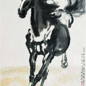 28 Xu Beihong Galloping Horse ink and color on paper 130 x 76 cm 1941 in the collection of Xu Beihong Memorial Hall 290x290 - Reproduction of Realism: Xu Beihong's 118 Representative Works Debut at NAMOC