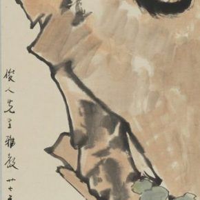 32 Xu Beihong A Little Cat ink and color on paper 108 x 36.9 cm 1938 in the collection of the National Art Museum of China 290x290 - Reproduction of Realism: Xu Beihong's 118 Representative Works Debut at NAMOC