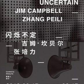 "00 Poster 290x290 - Chronus Art Center presents ""Jim Campbell & ZHANG Peili: The Flickering Uncertain"" in Shanghai"