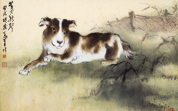 "00 - ""In the Pursuit of Eminence in Ink and Brush"" – Au Ho-Nien's Art Exhibition opened at the National Art Museum of China"