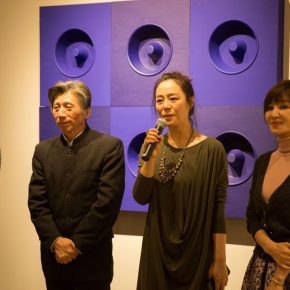 "02 Zhang Yanzi Executive Editor in Chief of CAFA ART INFO delivered a speech at the opening ceremony 290x290 - Studying the Nature of Things: ""Detachment"" The Second Exhibition of CAI Young Artist Laboratory Opened"
