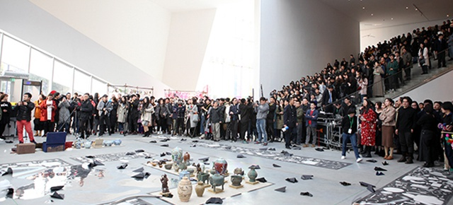 "The Large-Scale Comprehensive Art Project ""Qiu's Notes on the Colorful Lantern Scroll Project"" Has Finished"