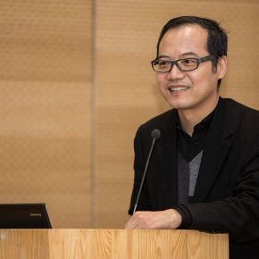 04 Wang Chunchen Deputy Director of the CAFA Art Museum presided over the lecture 290x290 - MassimoRoj: The City of Surpassing Beauty, Reflecting on the Social Function of Architectural Design