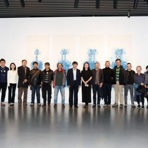 05 Group photo of the honored guests 290x290 - The Freedom Games Related to the Visual: Times – New Works by Li Tingting