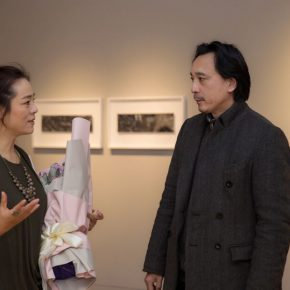 "05 Zhang Yanzi Executive Editor in Chief of CAFA ART INFO and Ma Gang Director of the Thematic Arts Creation and Research Center in China 290x290 - Studying the Nature of Things: ""Detachment"" The Second Exhibition of CAI Young Artist Laboratory Opened"