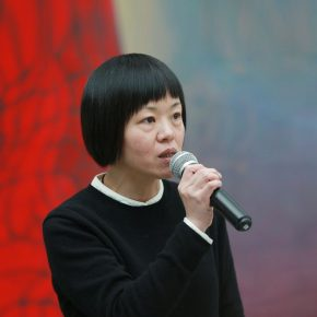 "06 Director Zhang Ziqian introduced the performing at the opening ceremony 290x290 - The Large-Scale Comprehensive Art Project ""Qiu's Notes on the Colorful Lantern Scroll Project"" Has Finished"