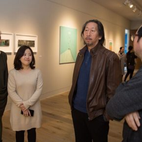"06 Zhang Yanzi Executive Editor in Chief of CAFA ART INFO and Ma Gang Director of the Thematic Arts Creation and Research Center in China 290x290 - Studying the Nature of Things: ""Detachment"" The Second Exhibition of CAI Young Artist Laboratory Opened"