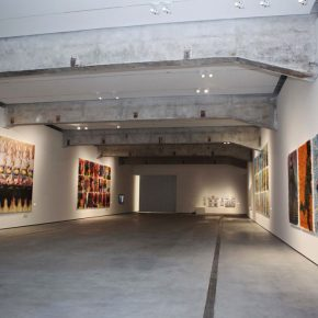 "09 Installation view of the exhibition 1 290x290 - Deconstructing the Self and Running Forward: ""Rabbit on the run"" Chen Xi's New Works Kicked Off at Beijing Minsheng Art Museum"