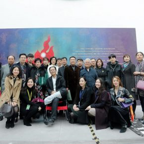 "09 View of the opening ceremony 290x290 - The Large-Scale Comprehensive Art Project ""Qiu's Notes on the Colorful Lantern Scroll Project"" Has Finished"