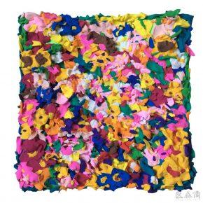 Sun Yitian, Swamp of Flowers, 2016; Mixed media, 20x20cm