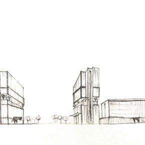 """18 Roj's architectural design manuscript of """"The Sign"""" 290x290 - MassimoRoj: The City of Surpassing Beauty, Reflecting on the Social Function of Architectural Design"""