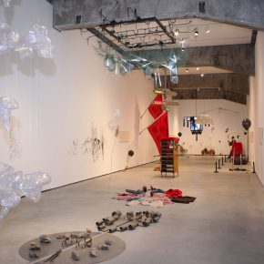 """19 View of the opening ceremony 290x290 - The Large-Scale Comprehensive Art Project """"Qiu's Notes on the Colorful Lantern Scroll Project"""" Has Finished"""