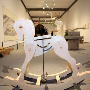 """20 View of the opening ceremony 290x290 - The Large-Scale Comprehensive Art Project """"Qiu's Notes on the Colorful Lantern Scroll Project"""" Has Finished"""