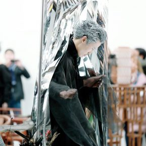 """22 A performance at the opening ceremony 290x290 - The Large-Scale Comprehensive Art Project """"Qiu's Notes on the Colorful Lantern Scroll Project"""" Has Finished"""