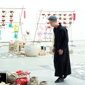 "25 A performance at the opening ceremony 290x290 - The Large-Scale Comprehensive Art Project ""Qiu's Notes on the Colorful Lantern Scroll Project"" Has Finished"