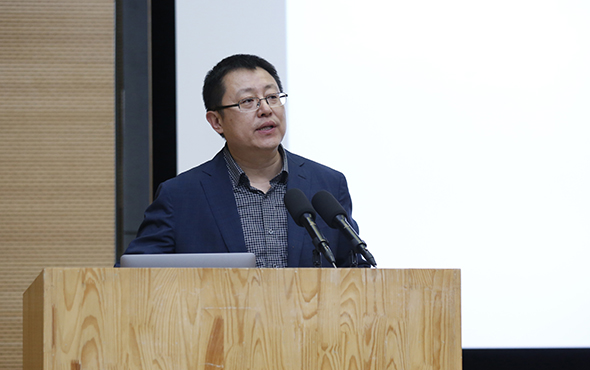 00 Professor Zhang Gan Deputy Dean of the Academy of Arts Design Tsinghua University - Zhang Gan: The Re-evaluation of the Value of the Academism and A Review of the Influence of Xu Beihong