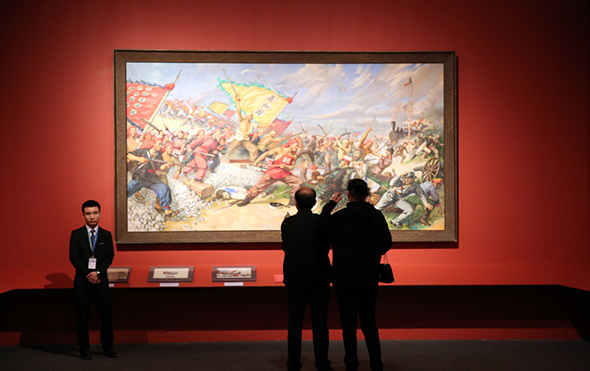 "00 featured image of the exhibition - He has never stopped drawing though he has reached old age: ""Dai Ze Art Exhibition"" Debuted at the National Museum of China"