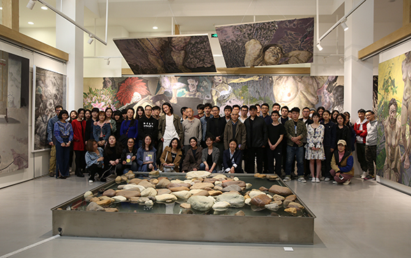 "00 featured image of the honored guests artists teachers and students - My Spring is Hidden in the Sleeves: CAFA ""Fine Arts Academic Award"" Series of Exhibitions had its debut"
