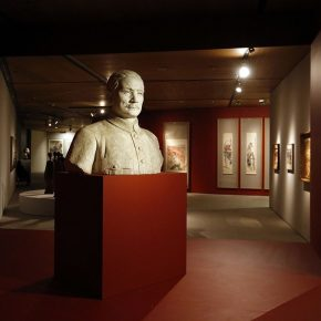 "01 Installation view of the exhibition 290x290 - ""Go With the Times: CAFA Centennial Celebration Exhibition"" Kicked Off"