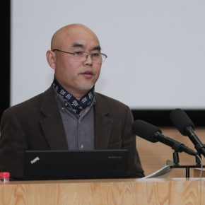 "01 Prof. Lyu Pinchang Director of the Department of Sculpture Central Academy of Fine Arts hosted the opening ceremony 290x290 - ""Conceptual Lines"" 2018 International Sculpture Conference: Discussing the Times of Conceptual Art in ""Dematerialization"""