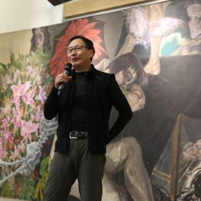"01 Prof. Ma Lu Dean of the School of Plastic Arts Central Academy of Fine Arts and Director of the Department of Oil Painting 290x290 - My Spring is Hidden in the Sleeves: CAFA ""Fine Arts Academic Award"" Series of Exhibitions had its debut"