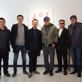 """02 Exhibition view of """"Meet Drawing"""" 290x290 - Perceiving Images of the Mind and Using Paintings to Reflect on the Self: """"Meet Drawing"""" Liu Libin Solo Exhibition has opened"""