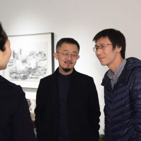 "04 Exhibition view of ""Meet Drawing"" 290x290 - Perceiving Images of the Mind and Using Paintings to Reflect on the Self: ""Meet Drawing"" Liu Libin Solo Exhibition has opened"